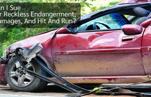 Can I Sue for Reckless Endangerment, Damages, And Hit And Run?